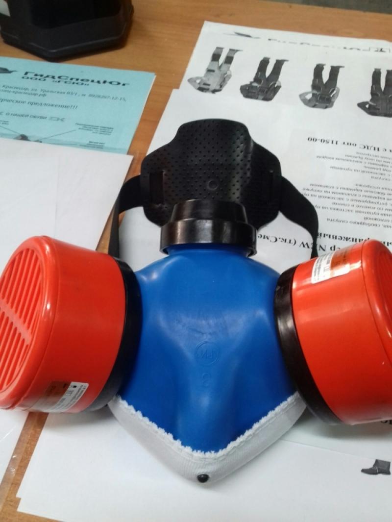Респиратор противогазовый Бриз-2201 (РПГ-67)