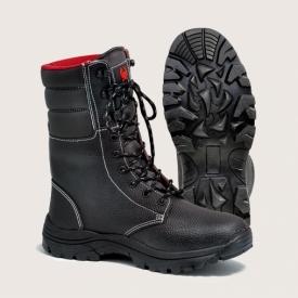 """Ботинки с выс.берц.""""Скорпион-Омон-Зима""""юфтевые"""