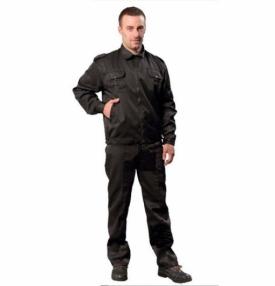 Костюм «Дозор-СТ» куртка/брюки, цвет черный.