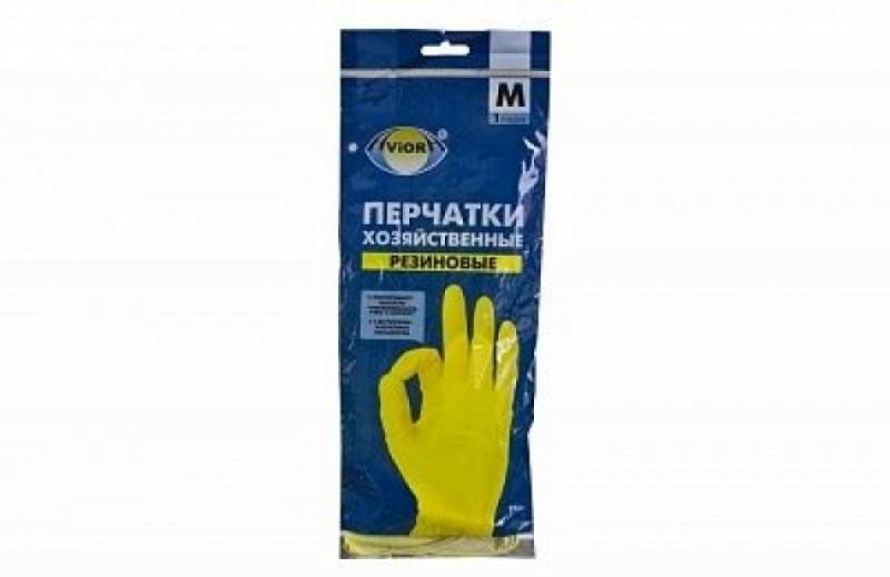 Перчатки резиновые AVIORA (Хозяйственные)  (120пар)
