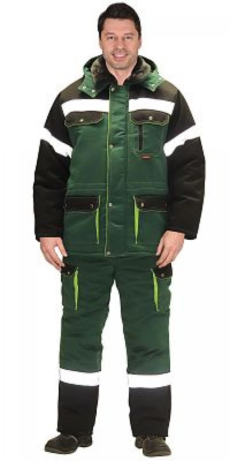 """Костюм """"СИРИУС-ТИТАН"""" куртка дл., полукомбинезон , цвет зеленый"""