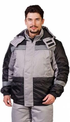 """Костюм """"Стайл"""" куртка+ п/к. цвет серый"""